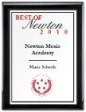 Best of Newton Award received by Newton Music Academy